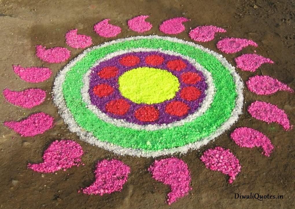 Best Diwali Rangoli Design