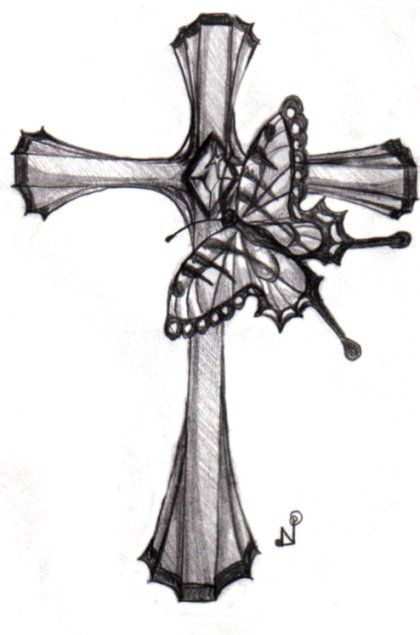 9 cross tattoo designs ideas. Black Bedroom Furniture Sets. Home Design Ideas
