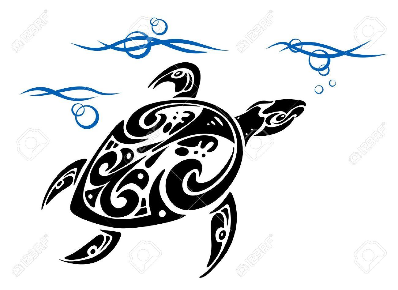 tribal ocean waves tattoo the image kid has it. Black Bedroom Furniture Sets. Home Design Ideas