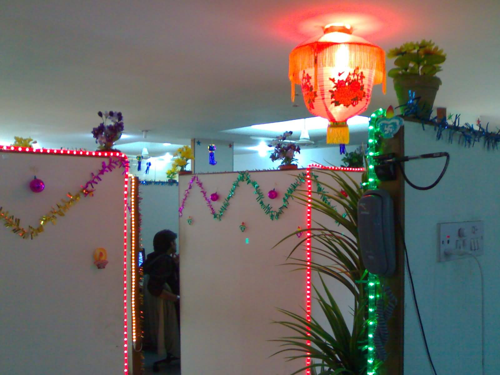 Stunning home decorating lighting ideas interior design for Indoor diwali decoration