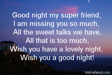 I Am Missing My Friends 12 Awesome Good Night ...