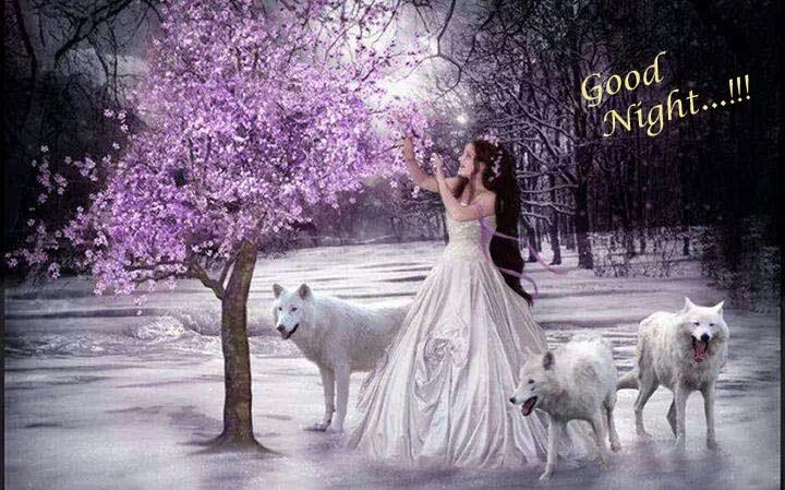 good night sweet dreams beautiful girl picture