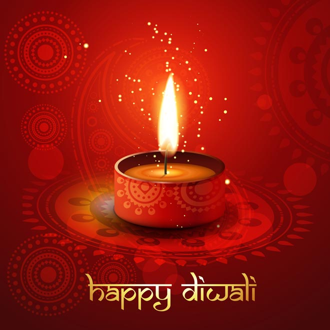 Happy diwali greeting card m4hsunfo