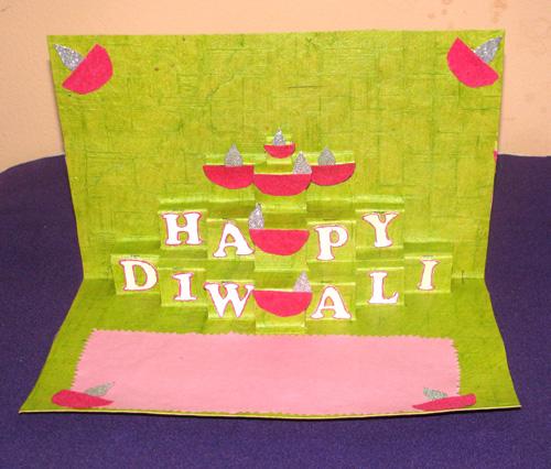 Handmade diwali greeting card designs personalized greeting cards handmade diwali greeting card designs download m4hsunfo