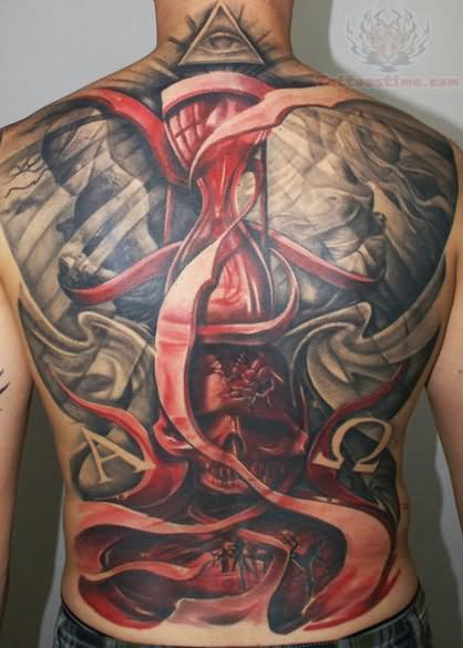 0de249e65 29 Latest Hourglass Tattoo Images, Designs And Pictures