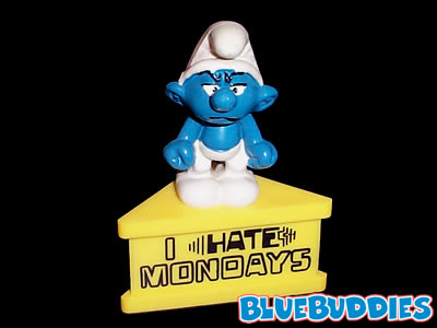 I Hate Mondays Smurfete Picture