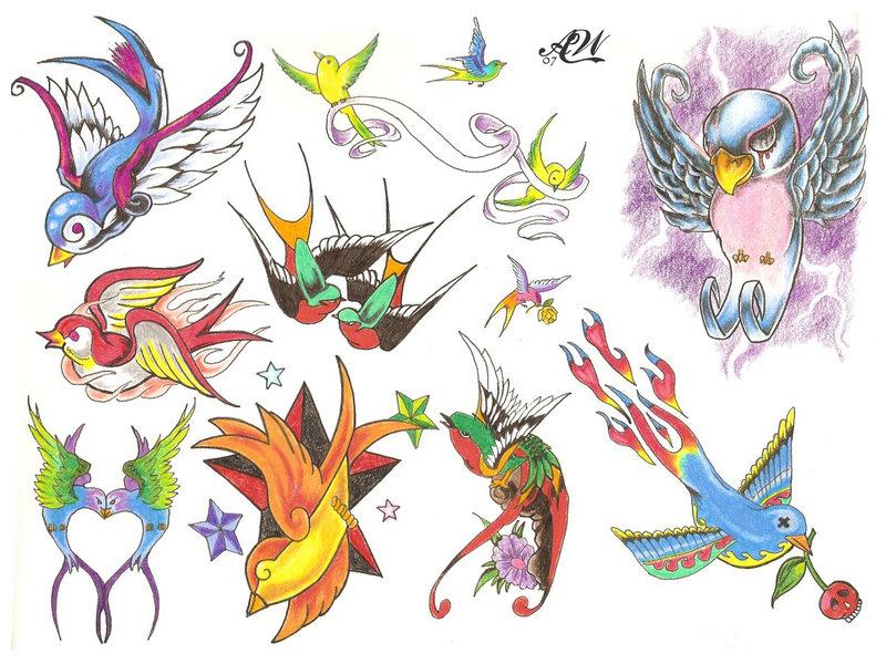 Tattoo Design Flash
