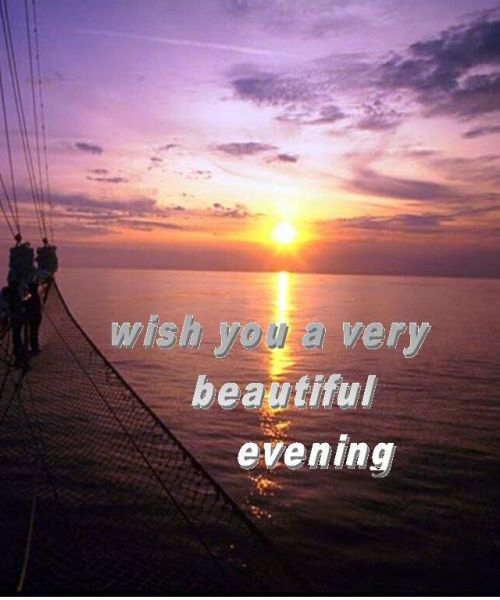 15 Best Good Evening Wishes Picture