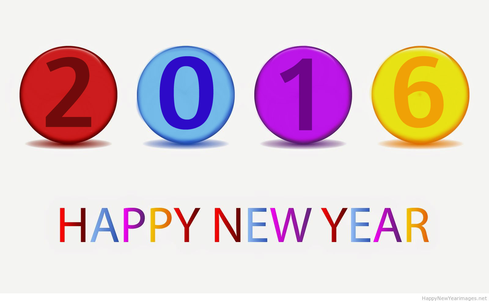 Perfect 2016 Happy New Year Clipart Picture