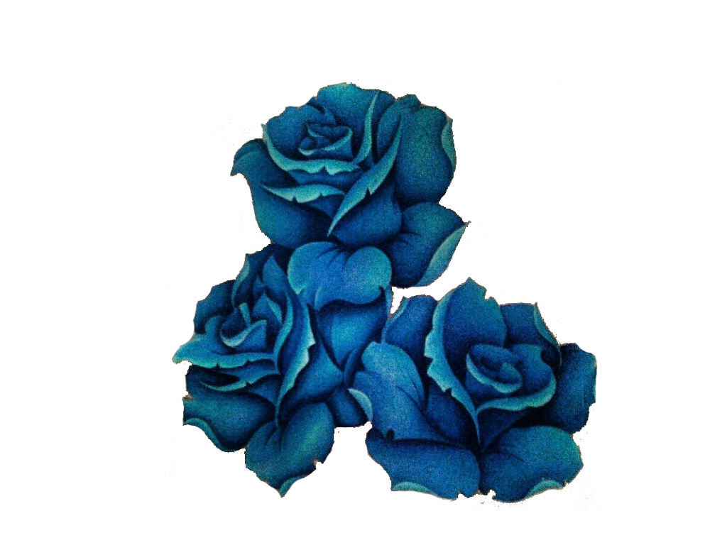 7 Latest Blue Rose Tattoo Design Ideas For Girls 0ec5b1efdb8