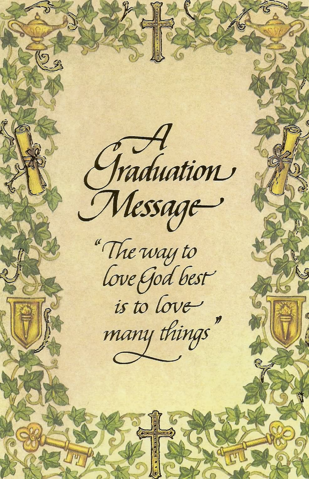 26 best graduation wishes picture a graduation wishes message kristyandbryce Gallery