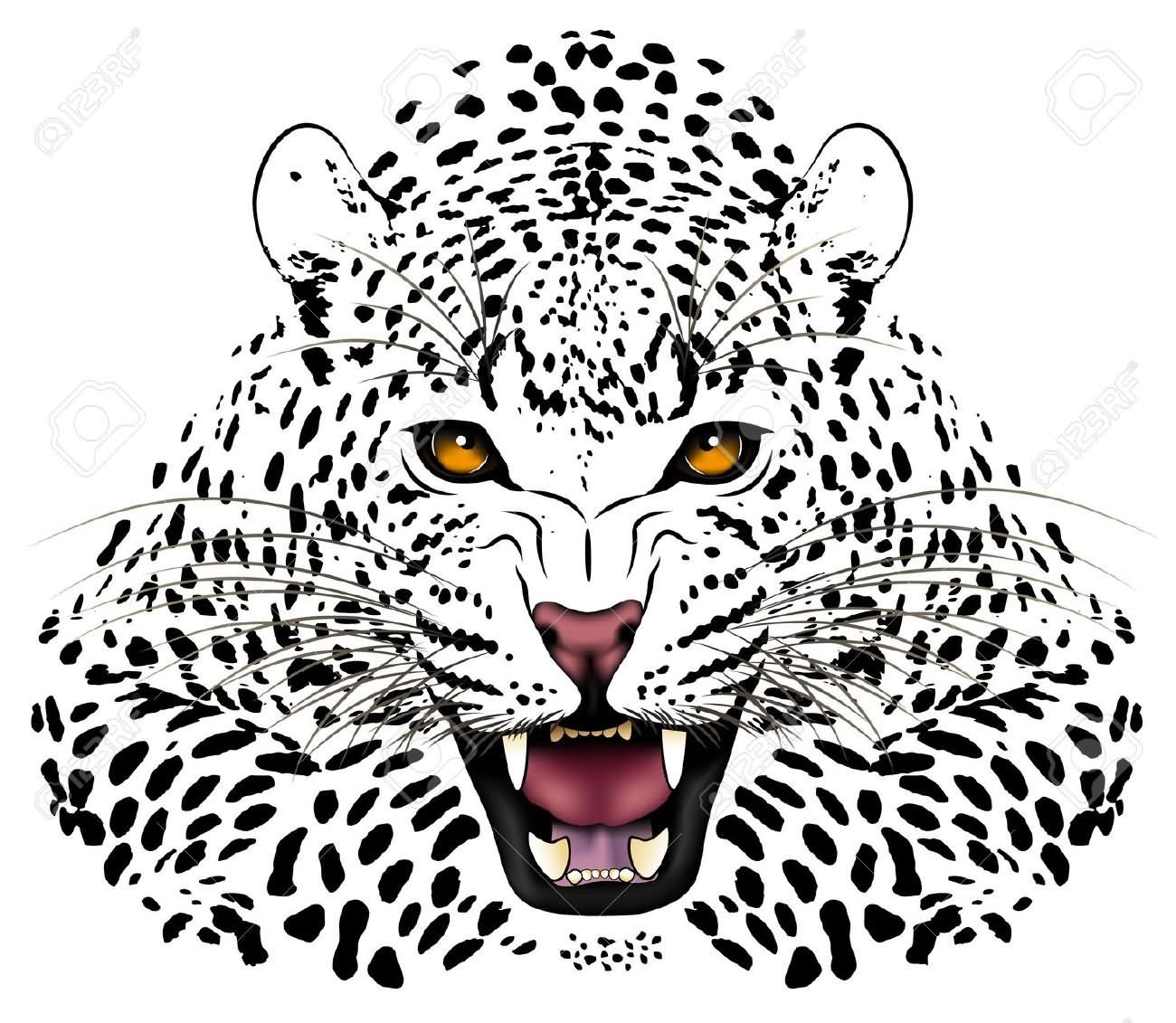 5 unique leopard tattoo designs and ideas. Black Bedroom Furniture Sets. Home Design Ideas