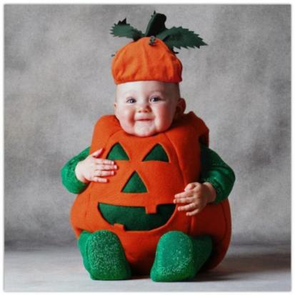 6baddcfc8f38 Baby In Funny Halloween Dress