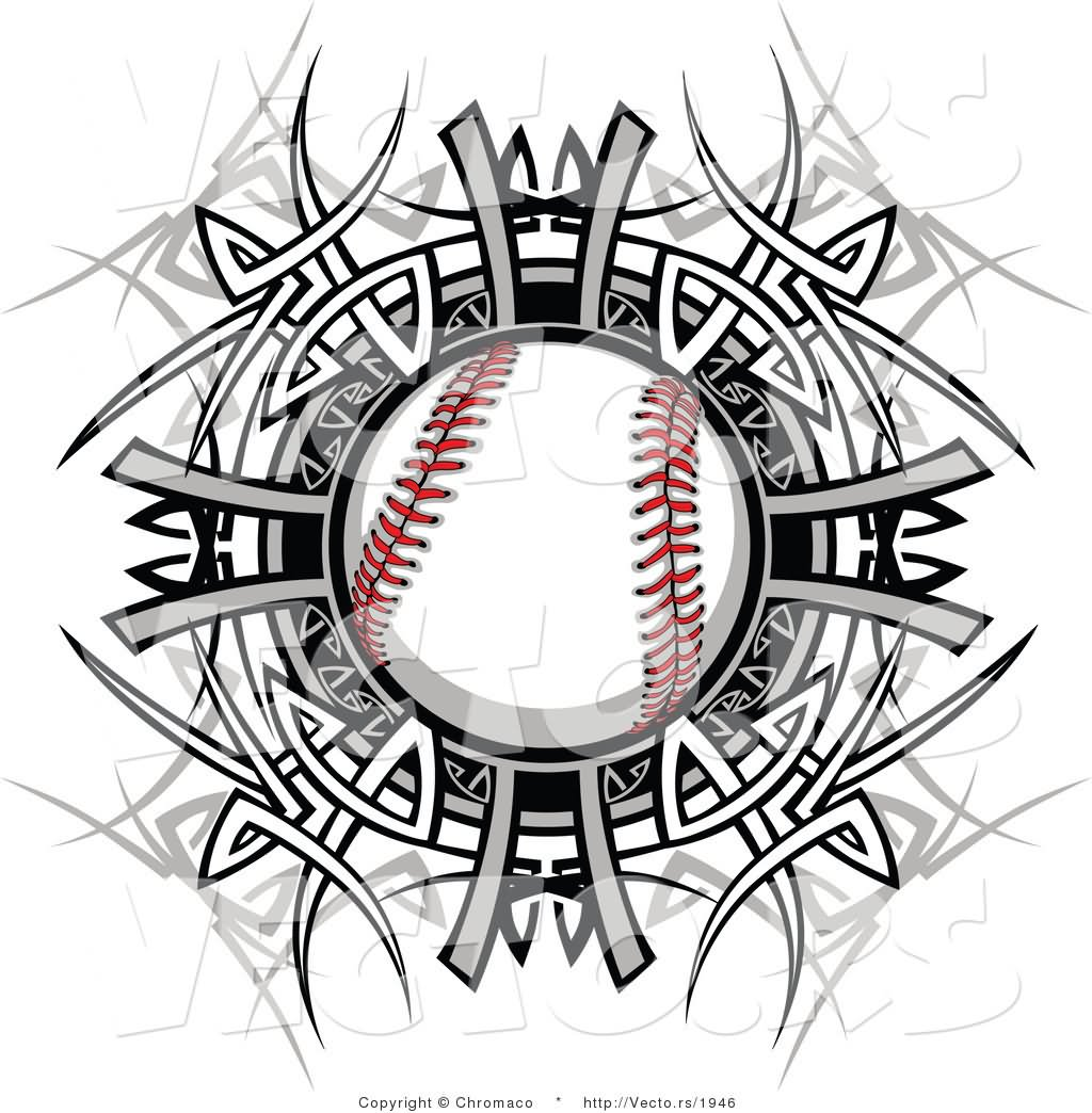 4 baseball tattoo designs and ideas for Baseball tattoo designs