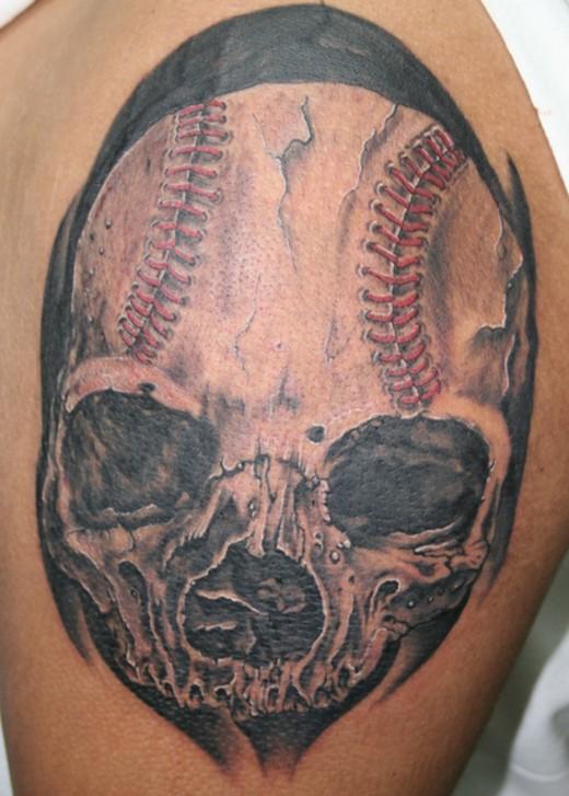 15 baseball tattoo designs and images for Baseball tattoo ideas
