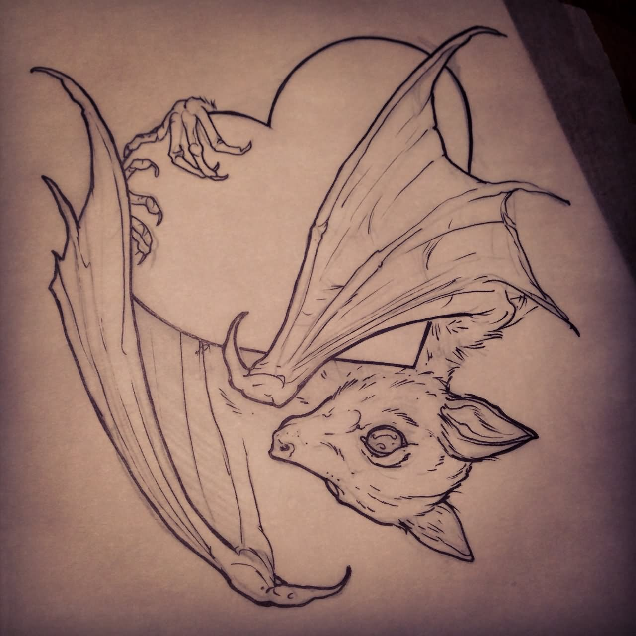 15+ Cool Bat Tattoo Images And Design Ideas