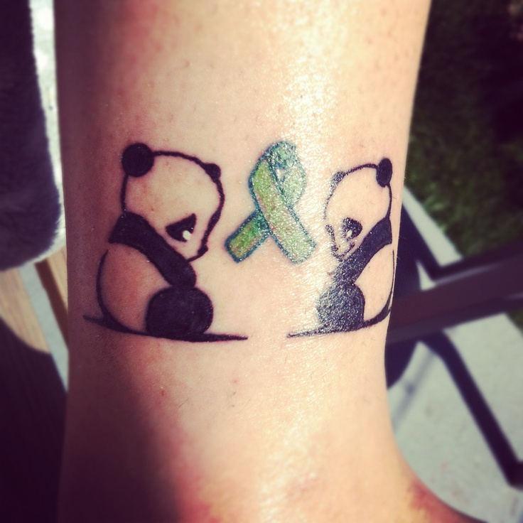 Tattoo For Mental Health Awareness: 20 Cute Panda Tattoo Designs And Images
