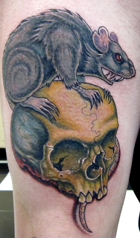 20 rat tattoo designs and images. Black Bedroom Furniture Sets. Home Design Ideas