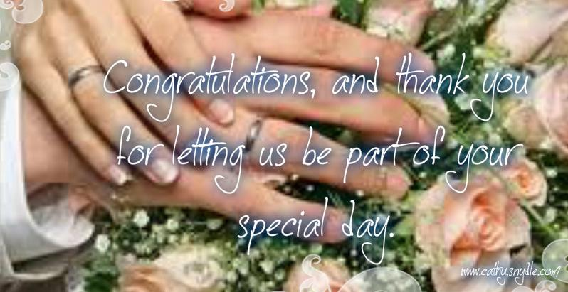 Best Wishes On Your Wedding Flowers In Basket Glitter Congratulations And Thank You For Letting Us Be Part Of Special Day