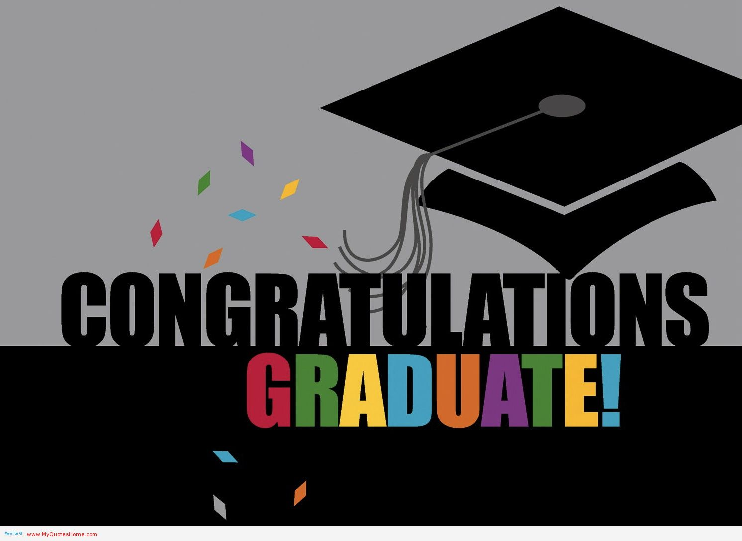 Bon Congratulations Graduation Wishes Picture