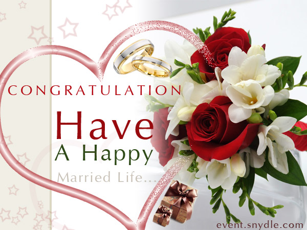 Congratulations Have A Happy Married Life