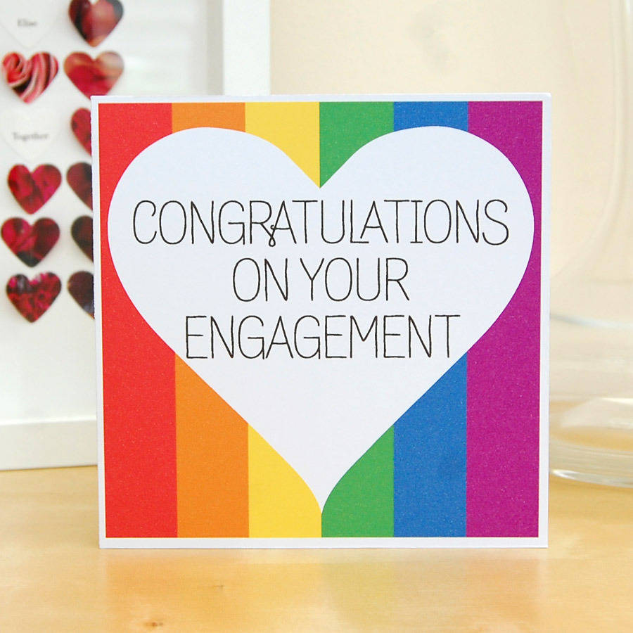 18 best engagement wishes greeting cards congratulations on your engagement colorful greeting card m4hsunfo