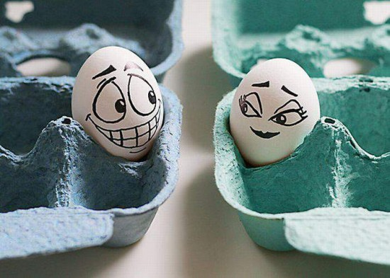 Loving Egg Talking To Each Other Funny Picture