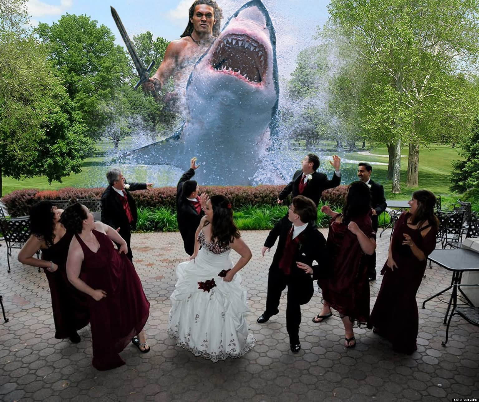 15 Very Funny Wedding Pictures
