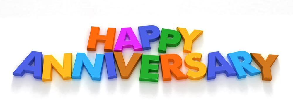 Happy Anniversary Colorful Facebook Cover Picture