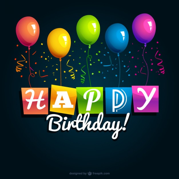 Happy birthday greeting card m4hsunfo