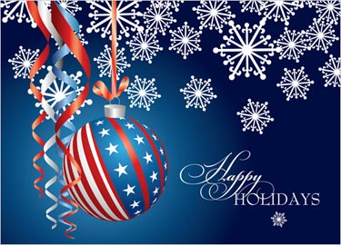 35 wonderful happy holidays greeting card pictures happy holidays greeting card american flag design hanging balls picture m4hsunfo