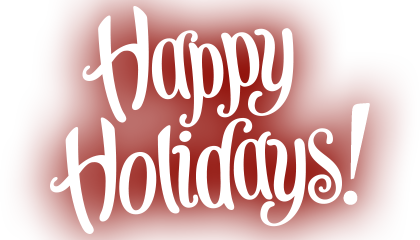 Image result for happy holidays logo