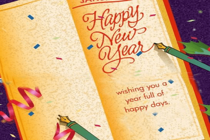 12 best happy new year greeting card pictures happy new year wishing you a year full of happy days greeting card m4hsunfo