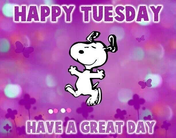 Happy Tuesday Have A Great Day Puppy Image