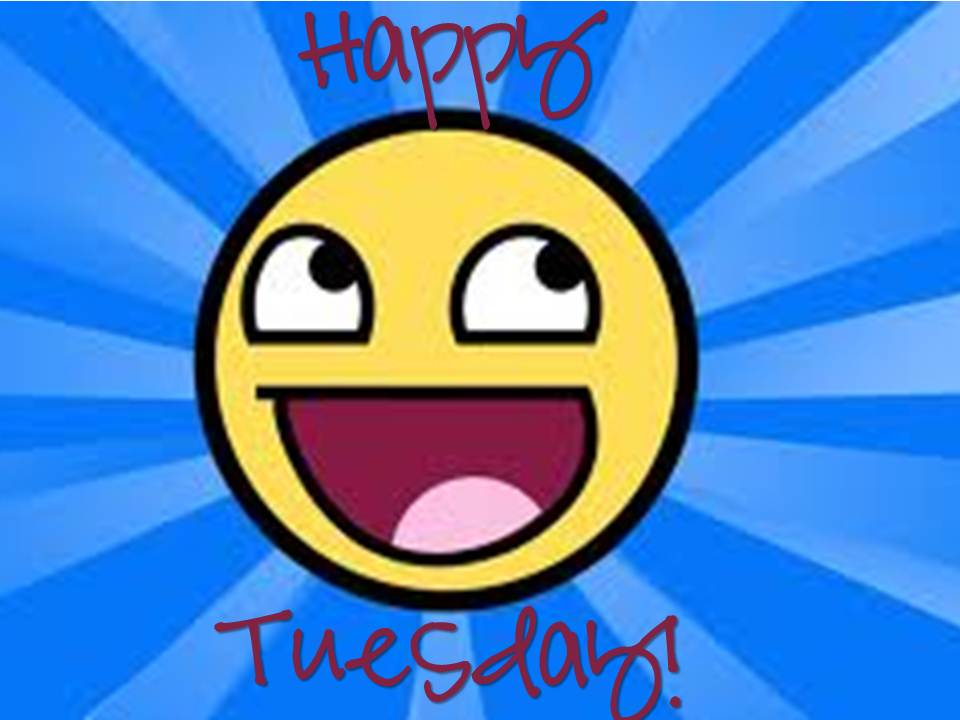 Happy Tuesday Smiley Picture