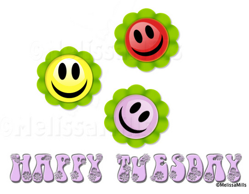 Happy Tuesday Smileys Picture
