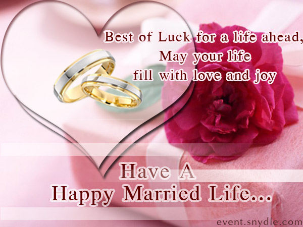 12 wonderful wedding wishes messages pictures have a happy married life m4hsunfo
