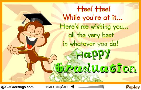 26 best graduation wishes picture heres me wishing you all the very best in whatever you do happy graduation m4hsunfo