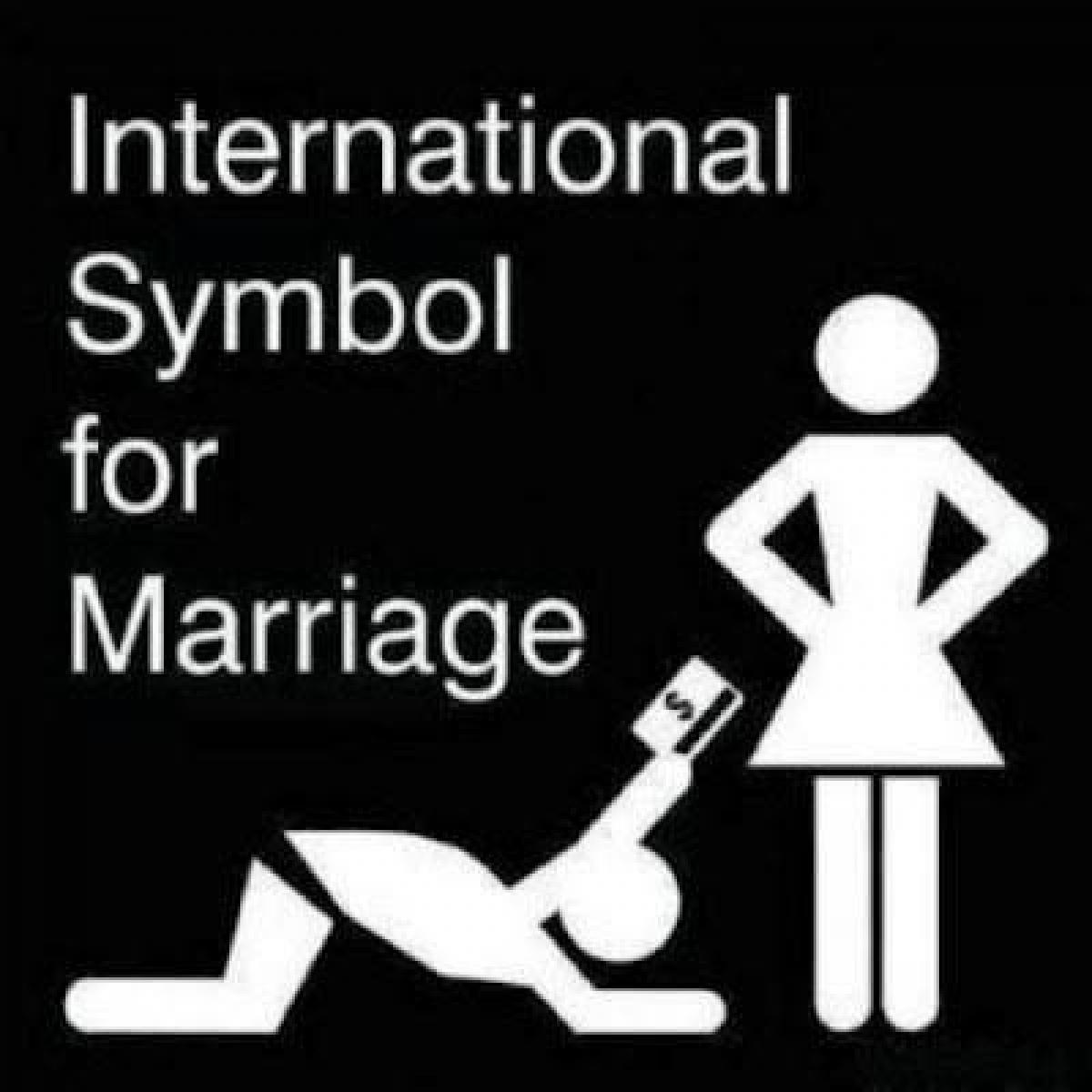 International symbol for marriage funny wedding picture biocorpaavc
