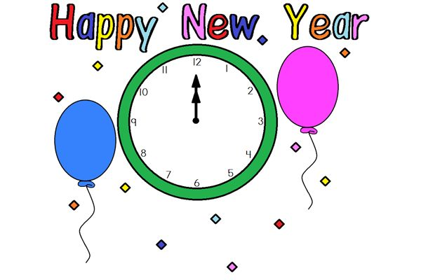 10 Best Happy New Year Clipart Pictures