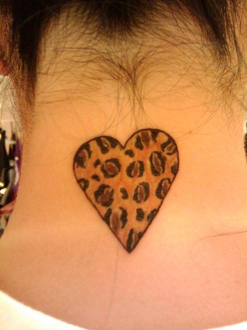 image Leopard skin tattoo in asian art gallery