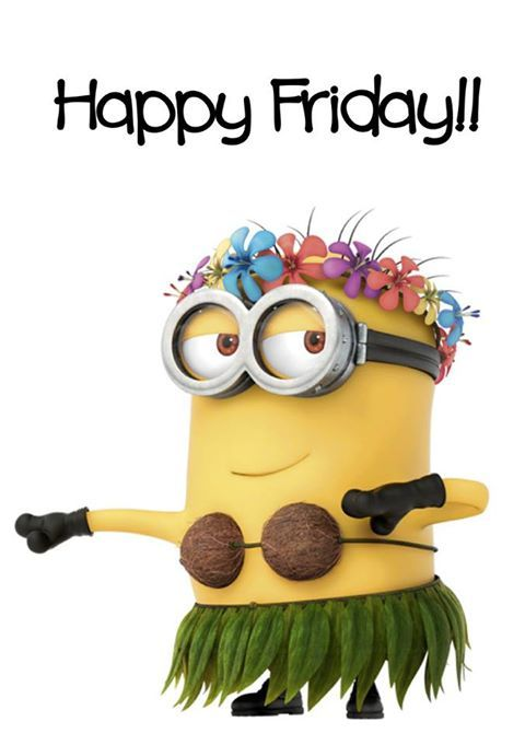 Minion Wishes You Happy Friday