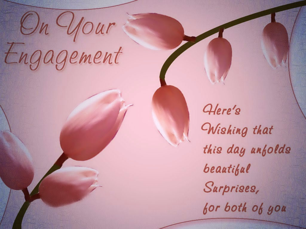 18 best engagement wishes greeting cards on your engagement heres wishing that this day unfolds beautiful surprises for both of you greeting m4hsunfo