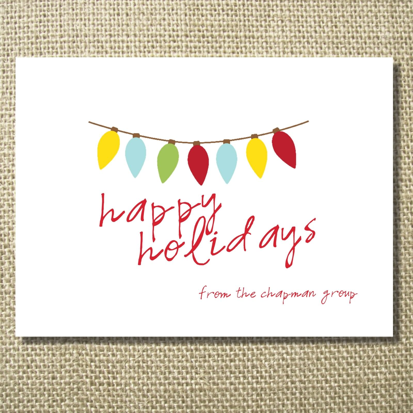 35 wonderful happy holidays greeting card pictures simple happy holidays greeting card kristyandbryce Choice Image