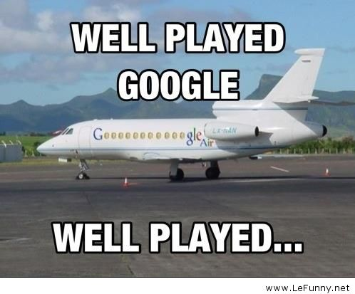 We Played Google Funny Plane Meme