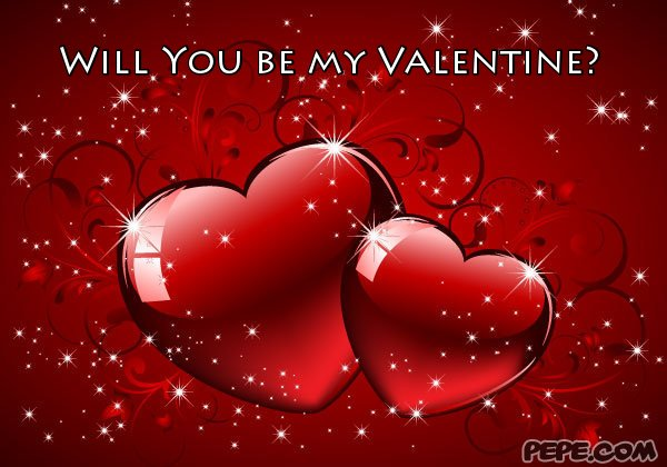 Toll Will You Be My Valentine