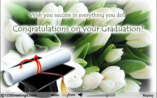 101 best graduation messages wishes sms wish you success in everything you do congratulations on your graduation m4hsunfo