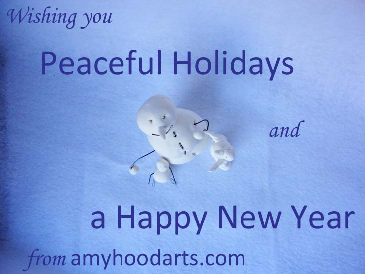 wishing you a peaceful holidays and a happy new year