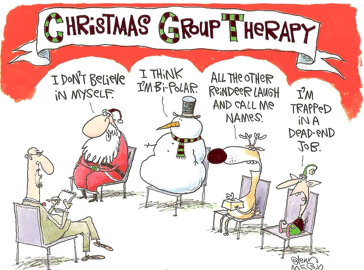 christmas group sayings greetings funny picture