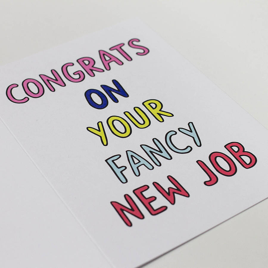 Congratulations Quotes New Job Position: 27 Very Best Good Luck For You Job Wishes Pictures